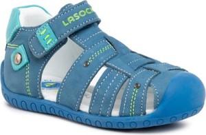 Niebieskie buty dziecięce letnie Lasocki Kids na rzepy