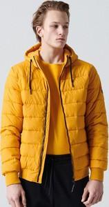 Żółta kurtka Cropp