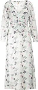 Sukienka Multu z długim rękawem maxi