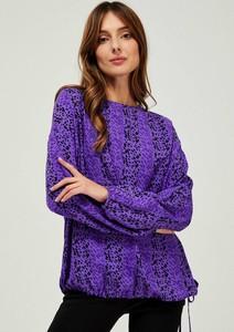 Fioletowa bluzka Moodo