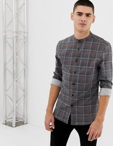 Koszula Asos Design z długim rękawem ze stójką
