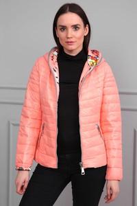 bc1197be61787 łososiowa kurtka - stylowo i modnie z Allani