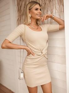 Sukienka SELFIEROOM z krótkim rękawem mini