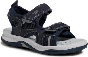 Granatowe buty dziecięce letnie Lasocki Kids na rzepy
