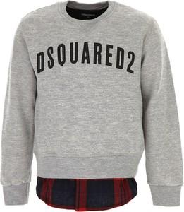 Bluza dziecięca Dsquared2 z jedwabiu