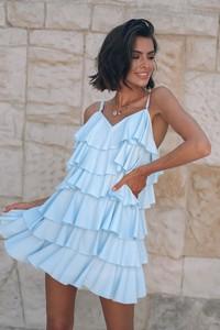 Sukienka Popatu mini z bawełny