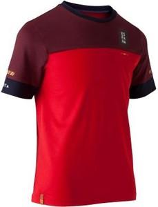 Czerwona koszulka dziecięca Kipsta