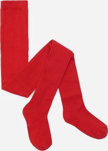 Czerwone rajstopy Reserved dla dziewczynek