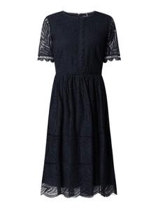Sukienka Tommy Hilfiger z okrągłym dekoltem z bawełny z krótkim rękawem