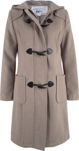 Brązowy płaszcz bonprix bpc bonprix collection