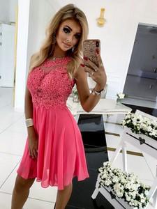 Sukienka E-sukienki.pl bez rękawów