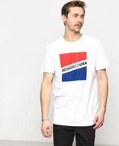 T-shirt DC Shoes z krótkim rękawem z bawełny