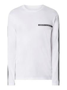 Koszulka z długim rękawem Armani Exchange z długim rękawem z bawełny