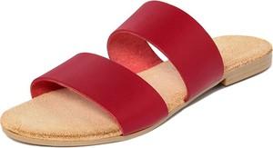 Czerwone klapki Lionellaeffe w stylu casual