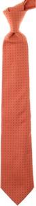 Czerwony krawat Fendi