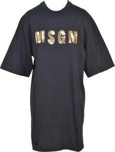 Czarna sukienka MSGM