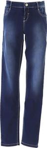 Granatowe spodnie dziecięce Monnalisa