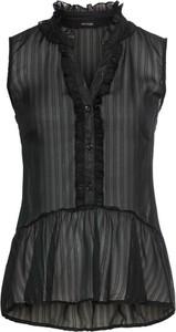 Czarna bluzka bonprix BODYFLIRT na ramiączkach w stylu casual