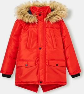 Czerwona kurtka dziecięca Sinsay