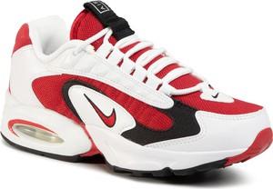 Buty sportowe Nike ze skóry ekologicznej sznurowane