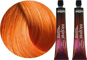 L'Oreal Paris Loreal Majirel Majirogue | Trwała farba do włosów - kolor 7.40 blond miedziany intensywny - 50ml x2 - Wysyłka w 24H!