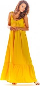 Żółta sukienka Awama