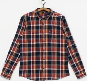 Koszula ETNIES z długim rękawem z bawełny