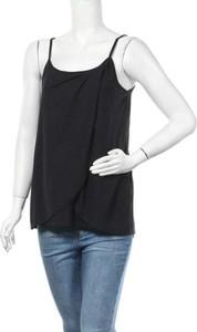 Czarna bluzka New Look w stylu casual z okrągłym dekoltem
