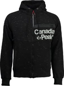 Czarna bluza Canadian Peak z bawełny