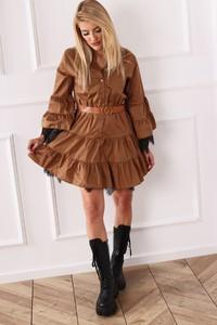Sukienka Ptakmoda.com koszulowa