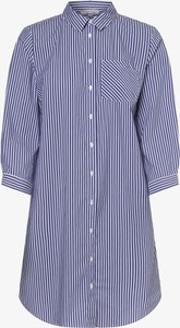 Niebieska sukienka Marie Lund mini koszulowa