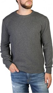 Sweter 100% Cashmere z okrągłym dekoltem w stylu casual