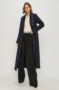 Czarny płaszcz Guess by Marciano
