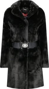 Czarny płaszcz Guess Jeans w stylu casual
