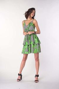 Sukienka Nommo mini na ramiączkach
