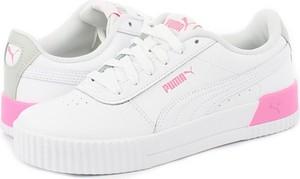 Buty sportowe Puma z płaską podeszwą w sportowym stylu sznurowane