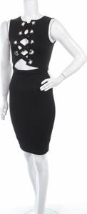 Czarna sukienka Hot & Delicious bez rękawów