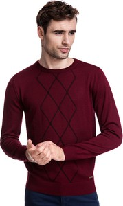 Sweter Giacomo Conti z wełny