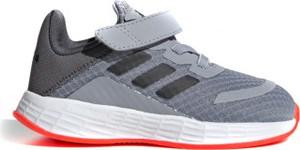 Buty sportowe dziecięce Adidas duramo ze skóry sznurowane