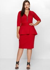 Sukienka By 20inlove z dekoltem w kształcie litery v