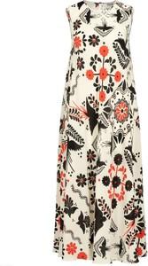 Sukienka Red Valentino bez rękawów z okrągłym dekoltem mini