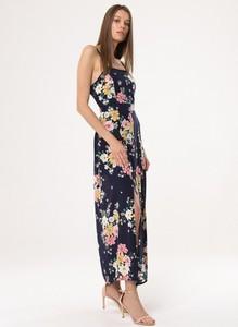 Sukienka born2be na ramiączkach maxi w stylu boho