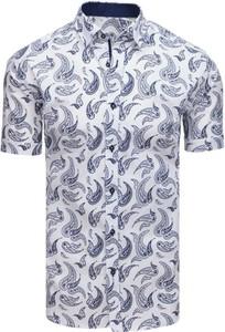 Koszula Dstreet z bawełny z kołnierzykiem button down z krótkim rękawem