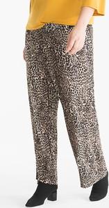 Brązowe spodnie YESSICA w stylu casual