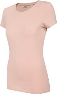 T-shirt Outhorn z okrągłym dekoltem w stylu casual