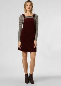 Sukienka Aygill`s na ramiączkach ze sztruksu