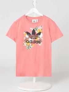 Bluzka dziecięca Adidas Originals dla dziewczynek z krótkim rękawem