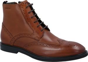 Buty zimowe Strellson sznurowane