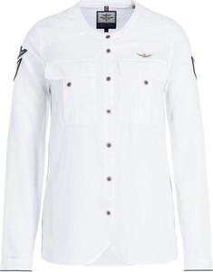 Koszula Aeronautica Militare z kołnierzykiem