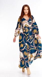 Sukienka Martex z długim rękawem